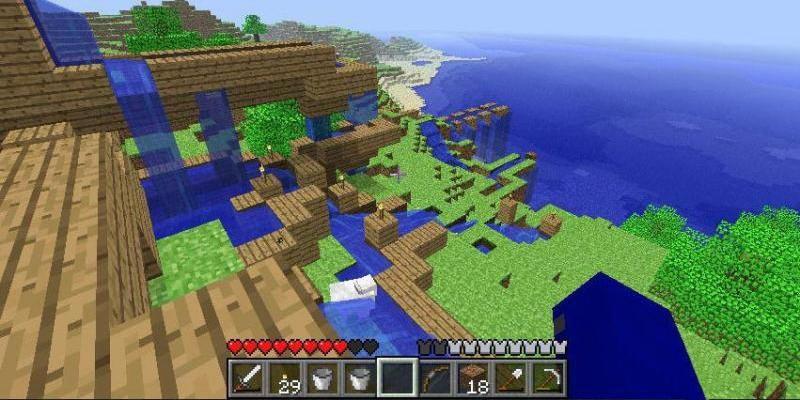 Скачать Minecraft - Pocket Edition для андроид планшета
