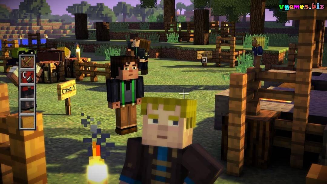 Скачать игру на компьютер minecraft story mode